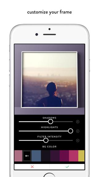 照片美化 边框 : VOUN [iPhone]
