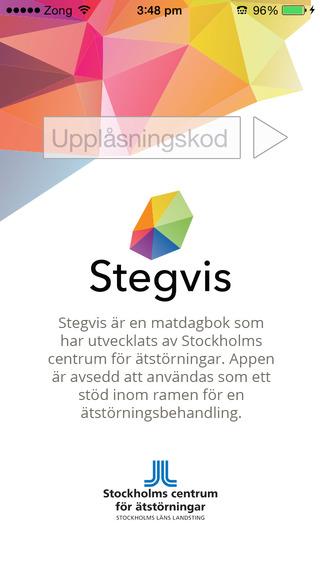 Stegvis - matdagboken i mobilen