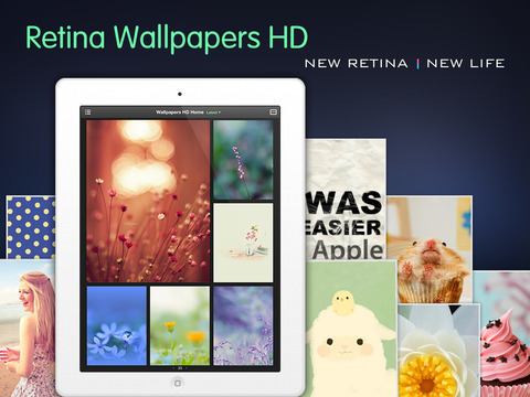 Screenshot 1 Wallpapers HD : New themes and backgrounds