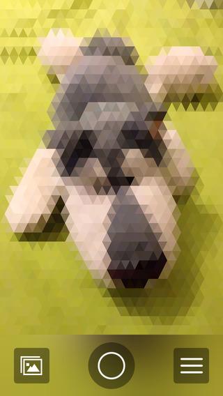 《马赛克 几何相机 : Centroid [iPhone]》
