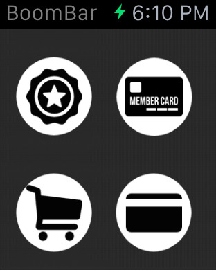 BoomBar - Store Reward and Loyalty Cards Screenshots