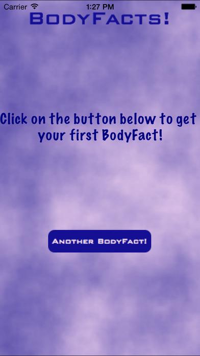 BodyFacts iPhone Screenshot 1