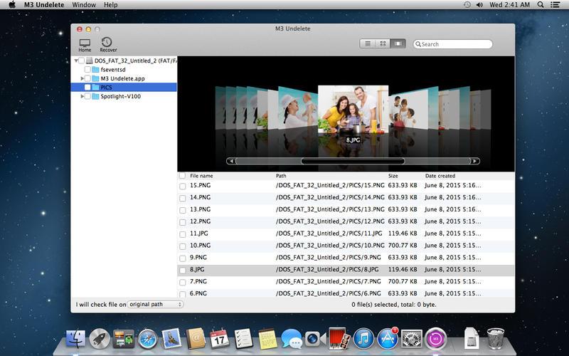 M3 Undelete - 数据还原软件[OS X]丨反斗限免