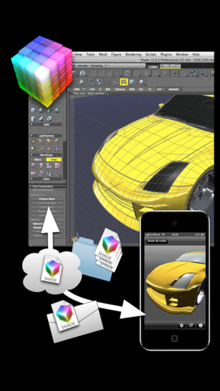 Shade 3D mobile