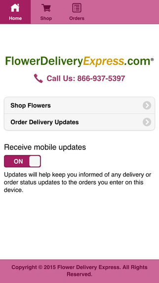 Flower Delivery Exp