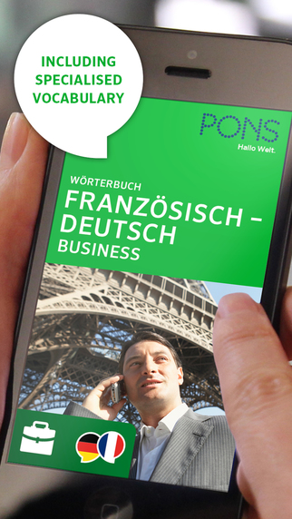 Dictionary French - German BUSINESS by PONS