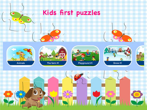 Kids first puzzles