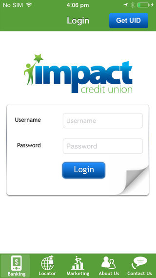 Impact Credit Union Mobile Banking