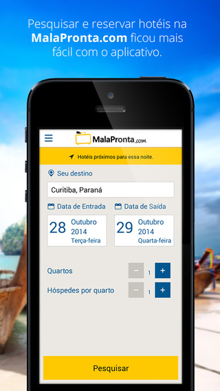 MalaPronta.com: Reserva de Hotéis
