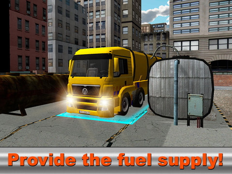 Oil Truck Driver: Simulator 3D Full Screenshots