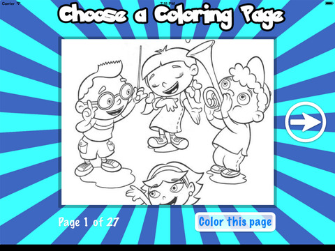 Color Book for LIttle Einsteins