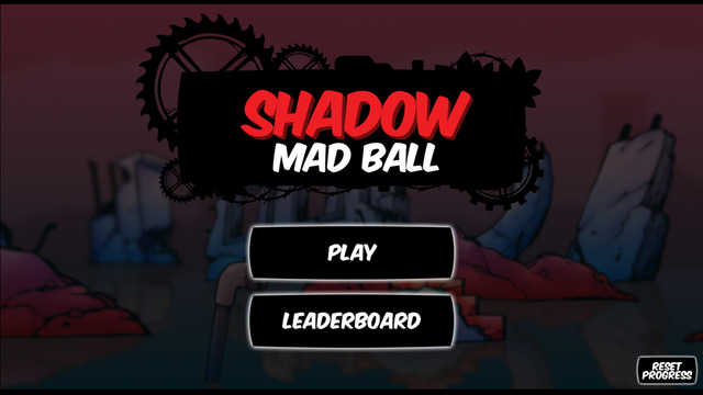 Shadow - Mad Ball Jumping Adventures