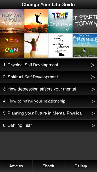 Change Your Life Guide - Understanding Your Mental Physical Mind For Self Development