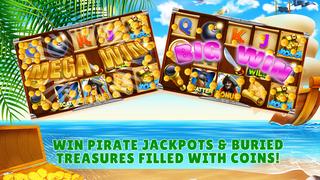 Screenshot 2 Slots Pirates Treasure — Free Slot Machine Game