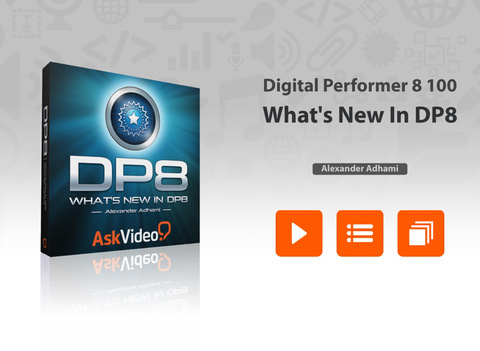 AV for Digital Performer 8 100 - What's New In DP8 Screenshots