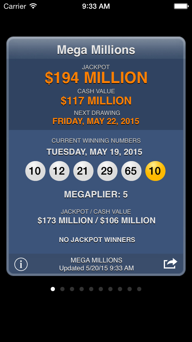 Lotto Results Premium - Mega Millions, Powerball and State ...