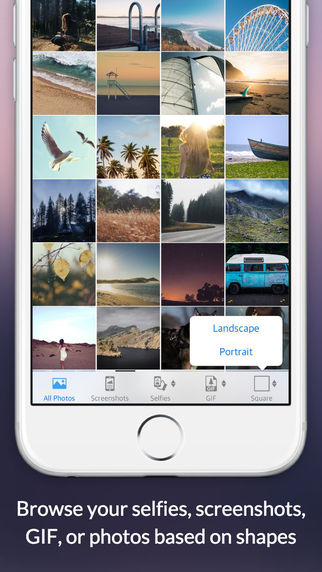 Lovely App - Create GIF and Photostrip Manage Selfies and Screenshots