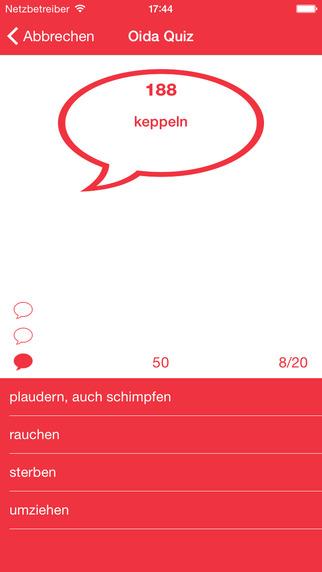 Oida Quiz - Das österreichische Mundart und Dialekt Quiz