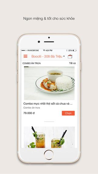 BooCafe - Đặt thức ăn thức uống và giao hàng tận nơi