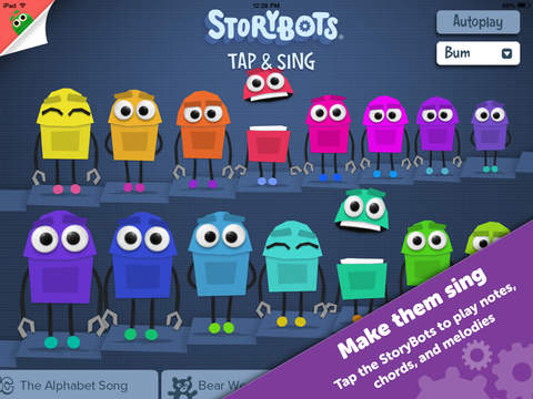 Tap and Sing by StoryBots – Free Fun Music Educational App to Learn Notes Chords and Melodies