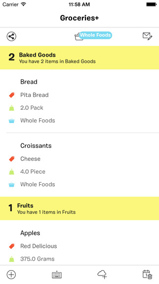 Groceries+ ~ Shopping Lists. Reinvented.