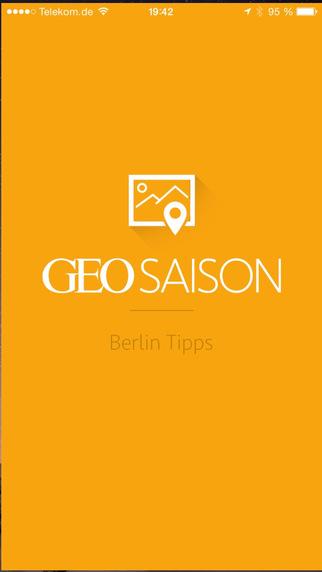 Berlin Tipps GEO SAISON