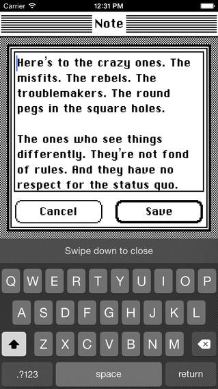 《实用复古 - 经典笔记 Classic Note [iPhone]》