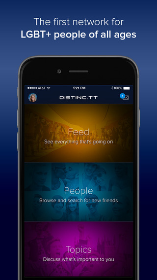 Distinc.tt - LGBT Social Networking for the Gay Lesbian Bisexual and Transgender Community