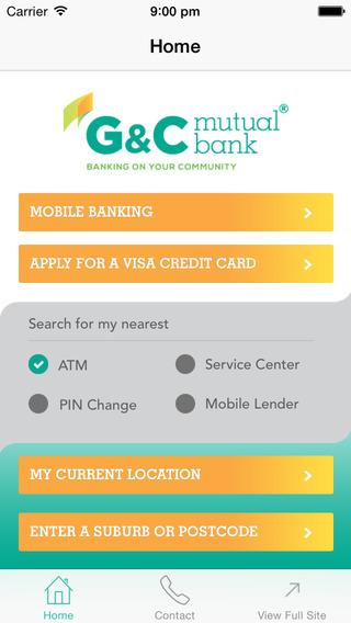 G C Mutual Bank Mobile Banking