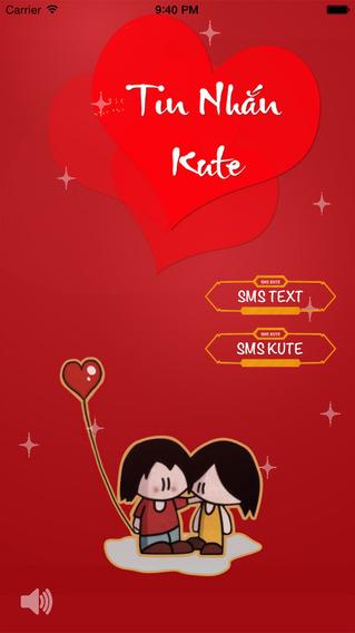 Tin Nhắn Kute - Tin nhắn yêu thương tin nhắn xếp hình tin nhắn vui