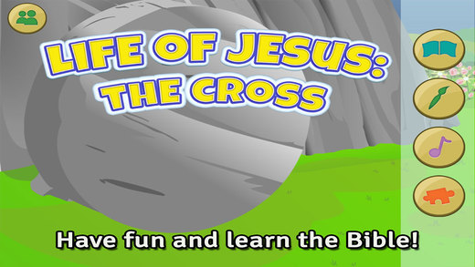 Life of Jesus: The Cross - Bible Story Coloring Singing and Puzzles for Children