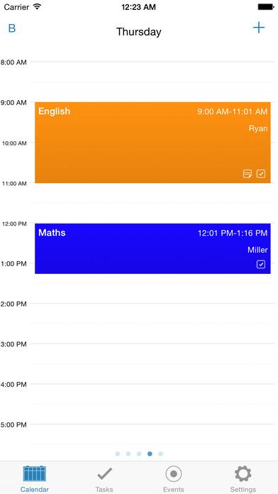 Time-Table iPhone Screenshot 1