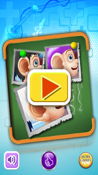 Ear doctor game for kids - zombie cure