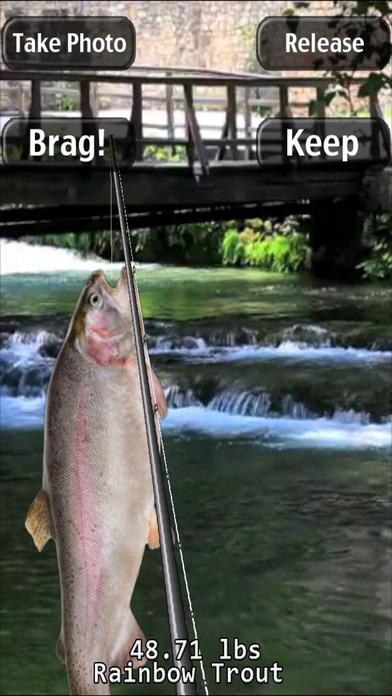 i Fishing Fly Fishing Edition iPhone Screenshot 2
