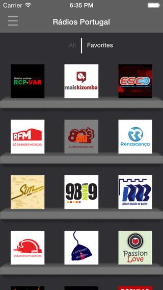 Rádios Portugal : o melhor de rádio Português