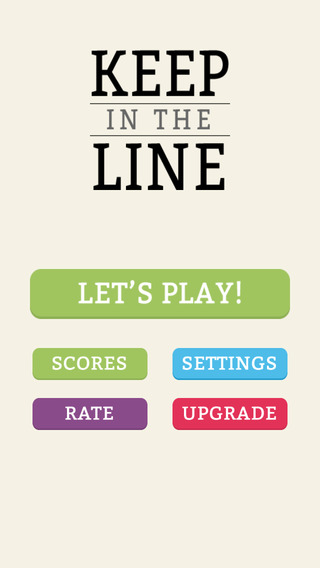 Keep In The Line Challenge
