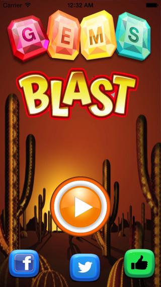 Gems Blast - Ancient Jewel Mine Gem Blast Quest
