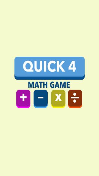 Quick 4 Math Game