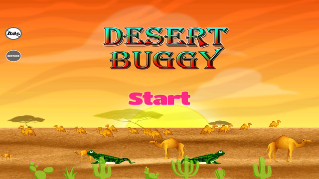 Desert Buggy - Strike The Dune Beach Racing