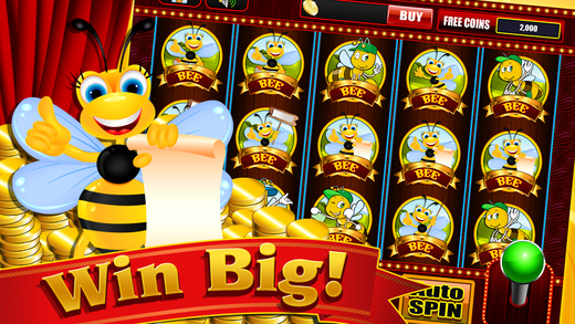 slot machine honey bee