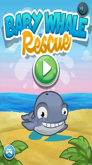 Baby Whale Rescue - Save the Fish Puzzle