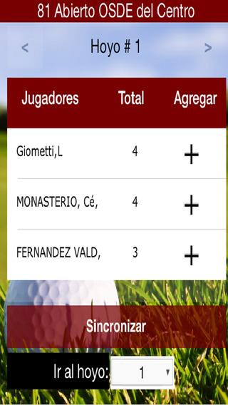 Golfmol Scoring App