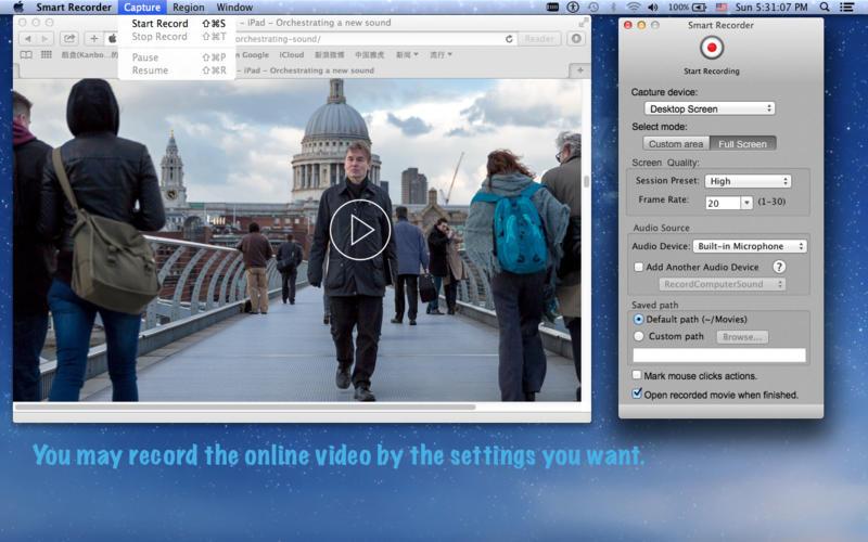 Smart Recorder Lite Screenshot - 1