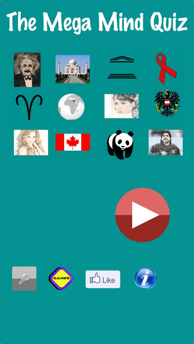 Mega Mind Quiz Pro screenshot 1