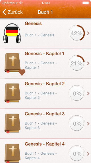 玩書籍App|Free German Holy Bible Audio MP3 and Text - Luther Version免費|APP試玩