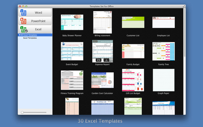 Templates Set for Office Screenshot - 4