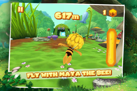 Maya The Bee: Flying Challenge screenshot 1