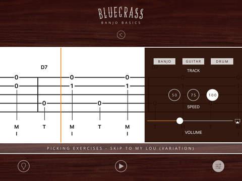 Bluegrass Banjo Basics iPad Screenshot 3