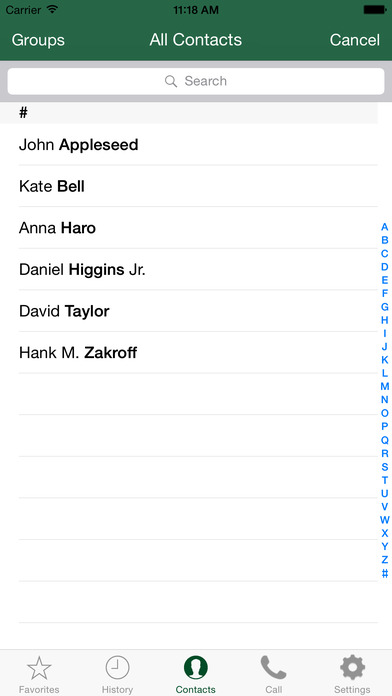 CallThrough iPhone Screenshot 3
