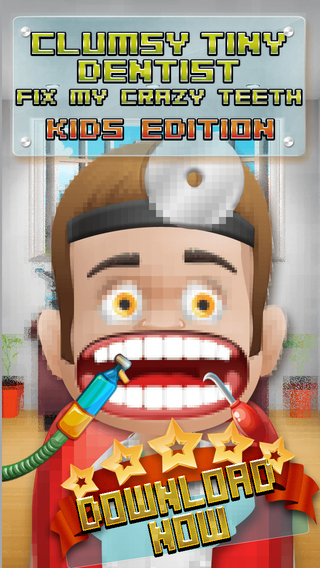 Aaah Clumsy Tiny Dentist Fix My Crazy Teeth - Kids Edition